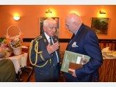 Oslava 93. narozenin brig. gen. v.v. Emila Bočka (pilot RAF) - s předsedou Ústavního soudu ČR Pavlem Rychetským