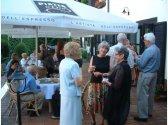 Firemní raut - restaurace a letní zahrádka