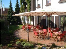 Summer Garden/Terrace of Restaurant Tarouca