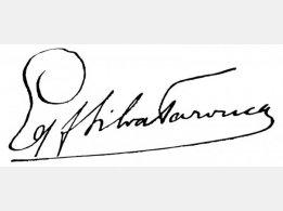 Podpis pane hraběte