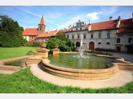 Průhonice - Schloss