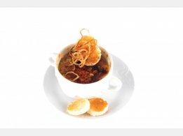 """Onion Soup """"au Gratin"""""""