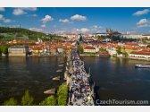 Praha - Hrad, Karlov most a Petřín