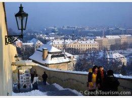 Praha - Zámecké schody