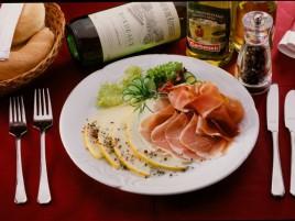 Parma Ham with Melon