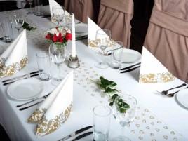 Svatební / slavnostní tabule